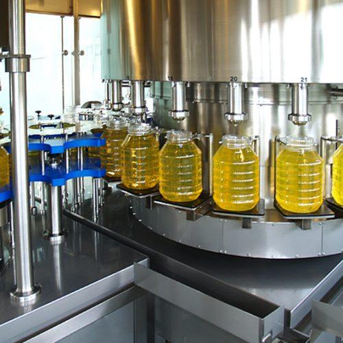 高速食用油灌装机6000瓶/小时